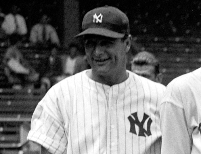 Lou Gehrig con el uniforme de los New York Yankees. Foto: Library of Congress (DP)