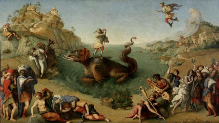 La liberación de Andrómeda, de Piero di Cosimo, año 1520.