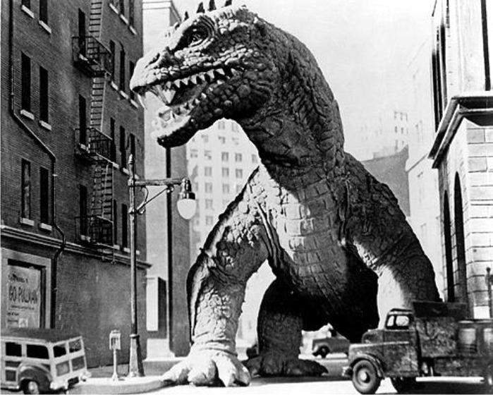 El monstruo de tiempos remotos, imagen de Jack Dietz Productions.