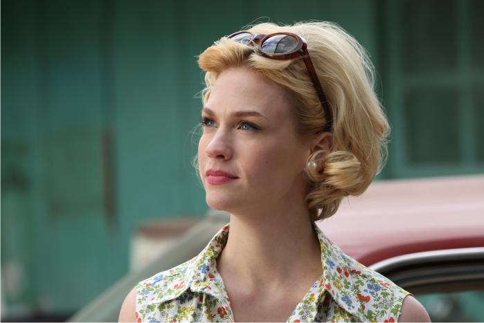 Betty Draper (January Jones). Imagen: AMC, Canal+.