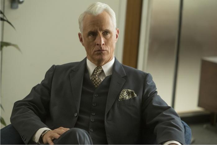 Roger Sterling (John Slattery). Imagen: AMC, Canal+.