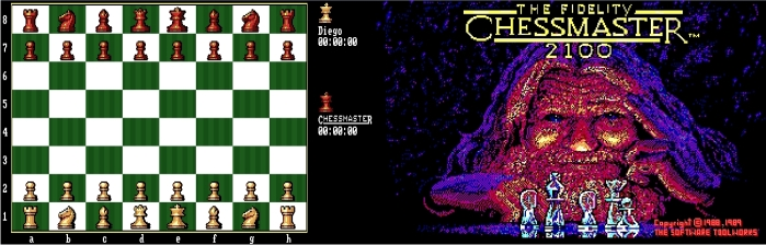 Chessmaster 2100. Grandes recuerdos. Imagen: The Software Toolworks.