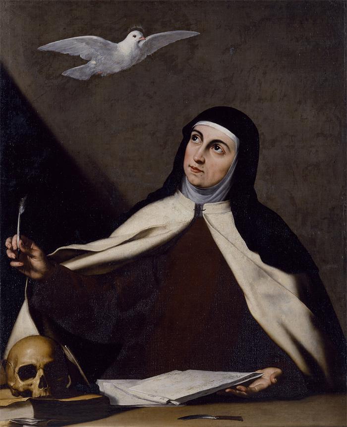 Sanra Teresa de Jesús José de Ribera ca. 1645