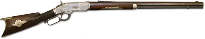 Rifle Winchester modelo 1873, el arma favorita de Billy el Niño, hasta el punto de que podía manejarlo con ambas manos (Foto: DP)