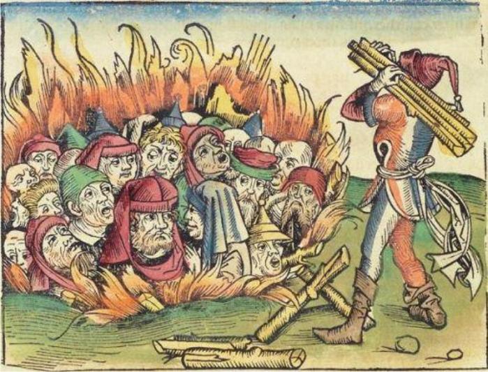Ilustración de Las Crónicas de Nuremberg, siglo XV (DP)