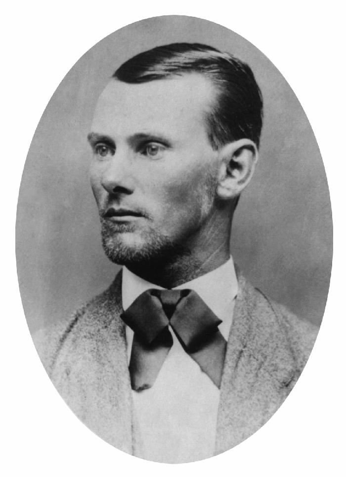 En la imagen, Jesse James. Pese a lo que decía la leyenda, Billy el Niño nunca perteneció a su banda. Sí es muy posible que James le ofreciese la ocasión de unirse a él y que Billy la rechazara.(Forto: DP).