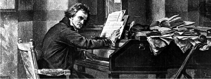 Ludwig Van Beethoven. Imagen: DP.