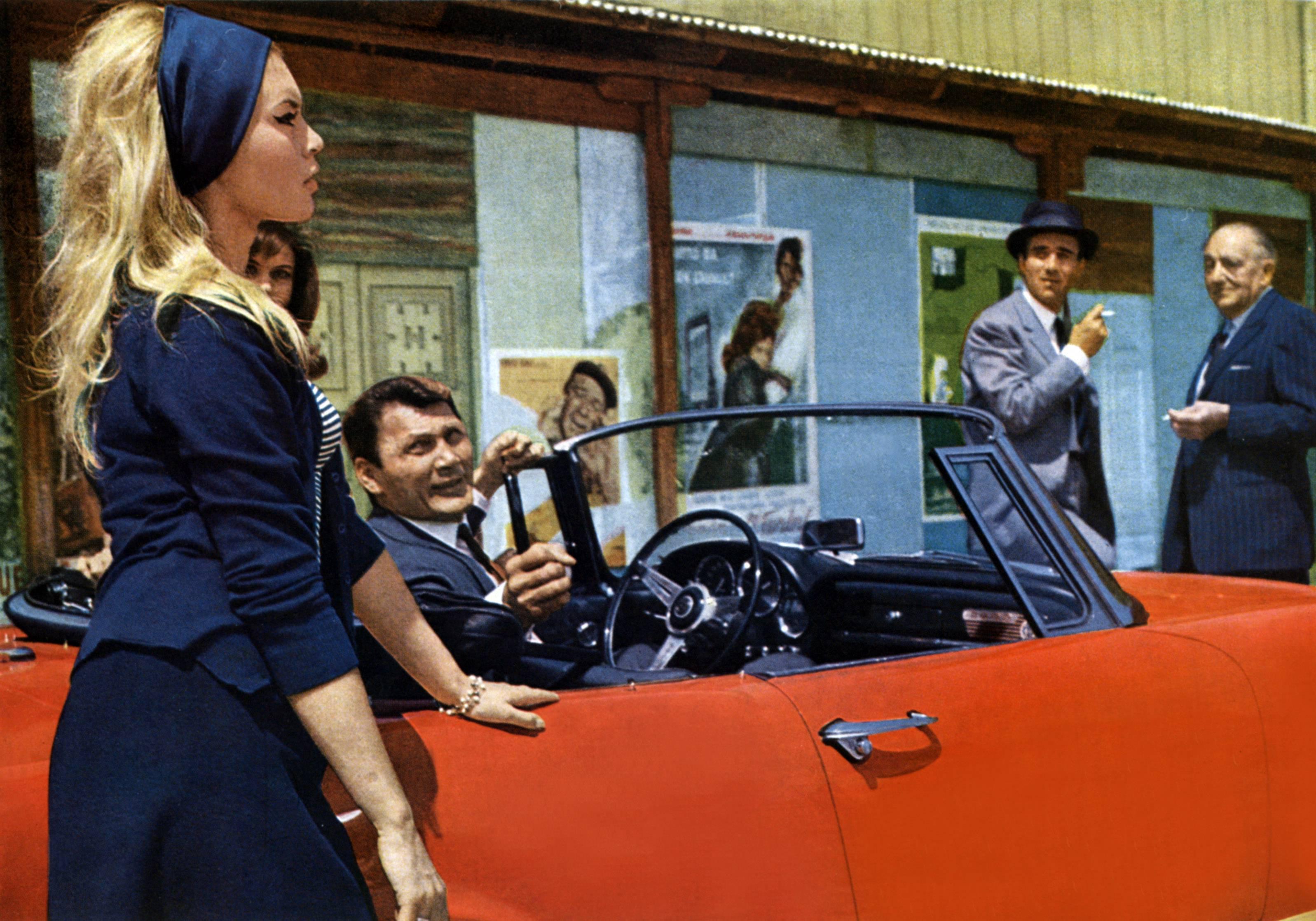 Le mépris, 1963. Imagen: Les Films Concordia / Rome Paris Films / Compagnia Cinematografica Champion