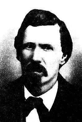 El sheriff Bill Brady, brazo armado de los caciques locales de Lincoln. (foto: DP)