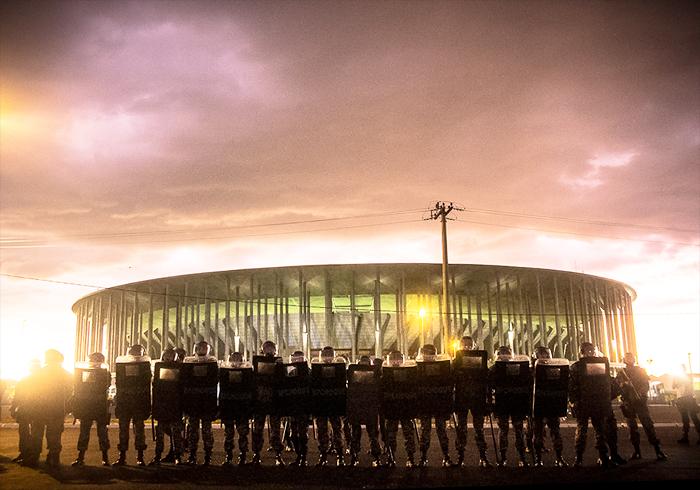 Estádio Mané Garrincha Brasilia 2013 Ninja Midia CC