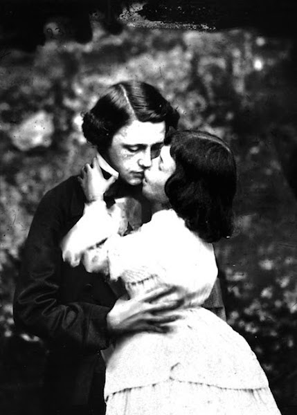 Lewsi Carroll y  Alice Liddell. Foto: DP.