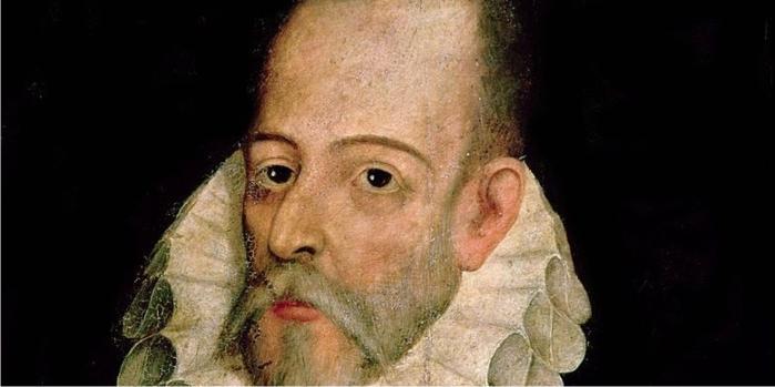 Retrato de Miguel de Cervantes, por Juan de Jauregui y Aguilar (DP)