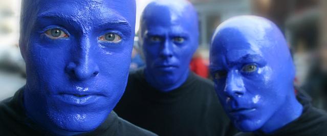 Imagen: Blue man group (promo)