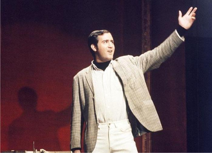 Andy Kaufman. Imagen: NBC.