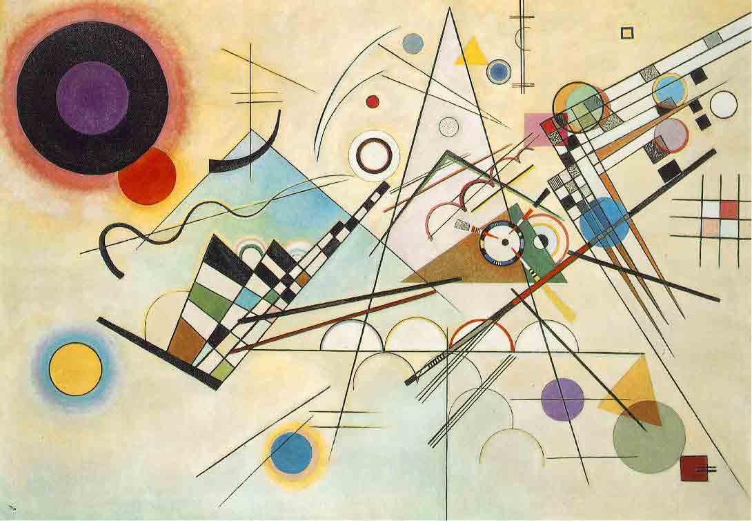 Wassily Kandinsky. Composition VIII (1923).