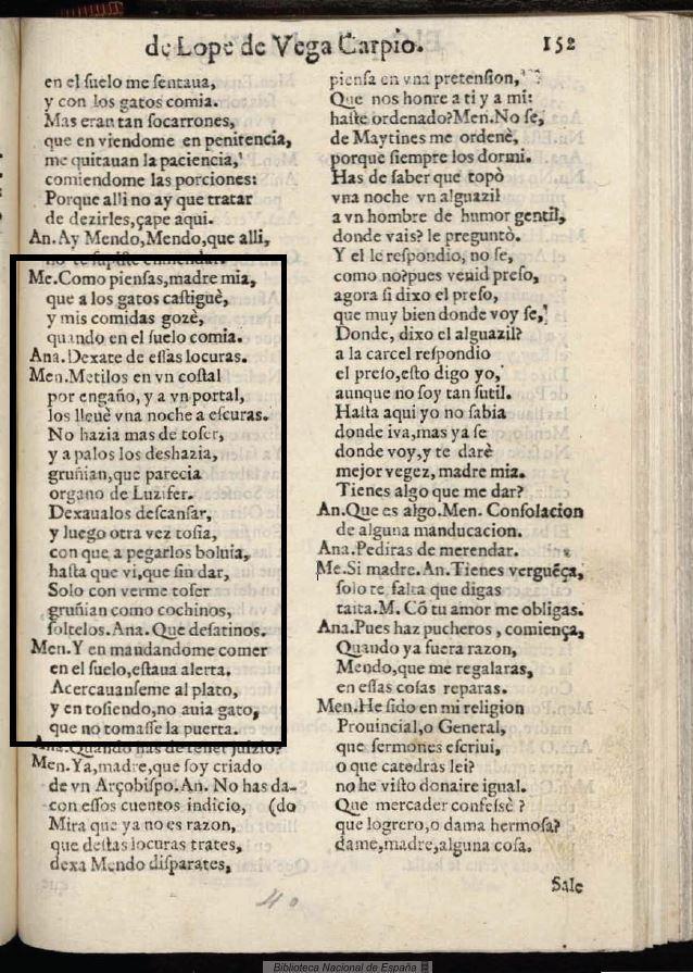 El Capellán de la Virgen (1623). Imagen: Biblioteca Nacional de España.