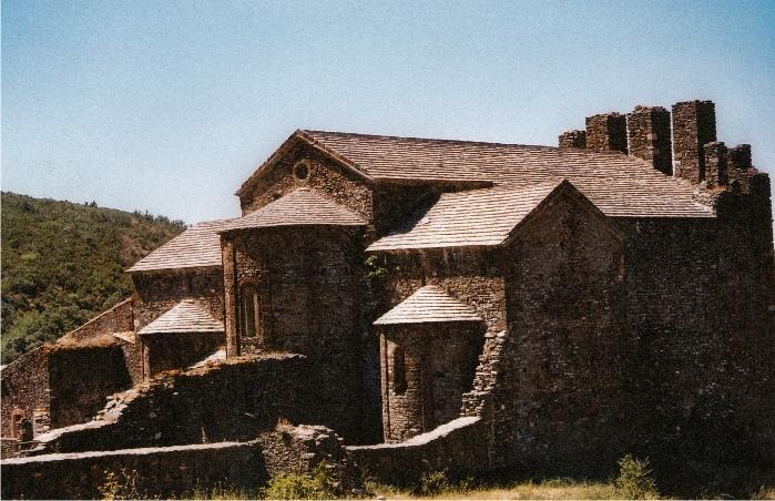 Vista de Sant Quirze de Colera.
