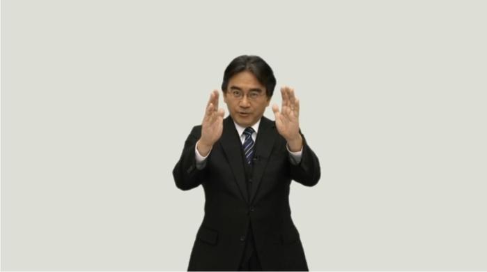 Satoru Iwata. Foto cortesía de Nintendo.
