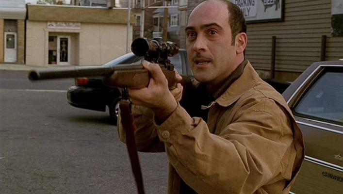 Artie Bucco fuera de si. Los Soprano (1999) Imagen: HBO