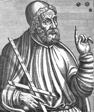 Claudio Ptolomeo, el último gran astrónomo griego, tal y como era representado en la era barroca (imagen: DP)
