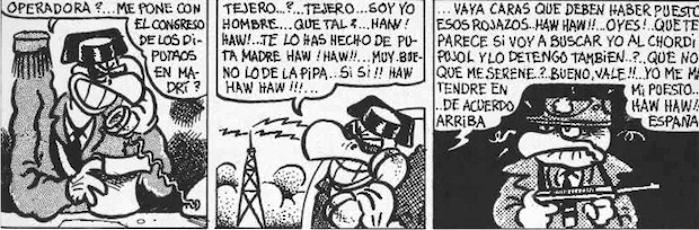 El Buitre Buitaker. Imagen: Miguel Gallardo / ABC.