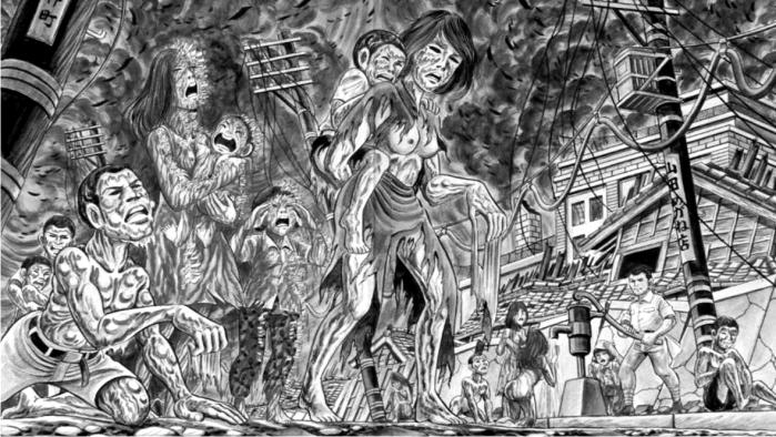 Ilustración de Pies descalzos. Editorial DeBolsillo.