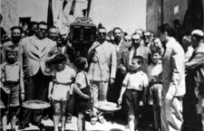 Funeral de la mafia siciliana, 1954. (DP)
