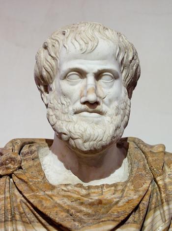 Busto de Aristóteles, copiado por el griego Lisipo de un original de bronce (foto: DP)