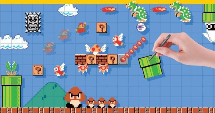 Super Mario Maker. Imagen: Nintendo.