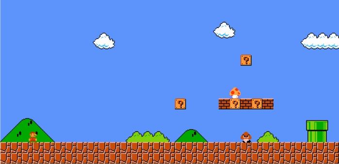 Super Mario Bros. Imagen: Nintendo.