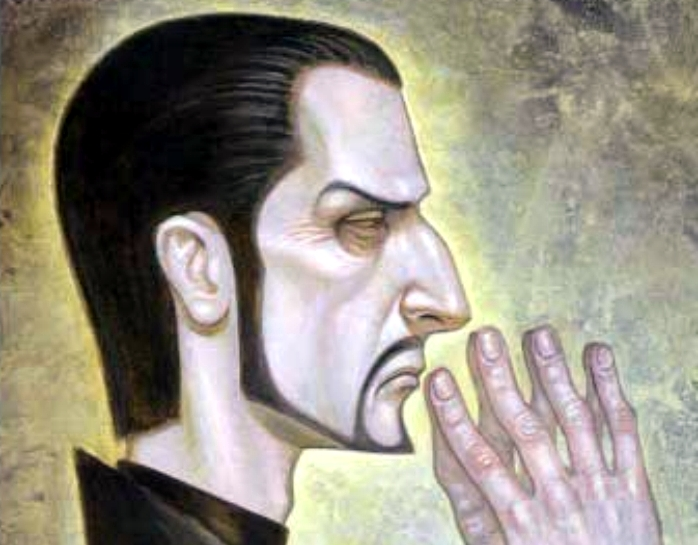 Lord Havelock Vetinari. Imagen: Plaza & Janés / Paul Kidby.