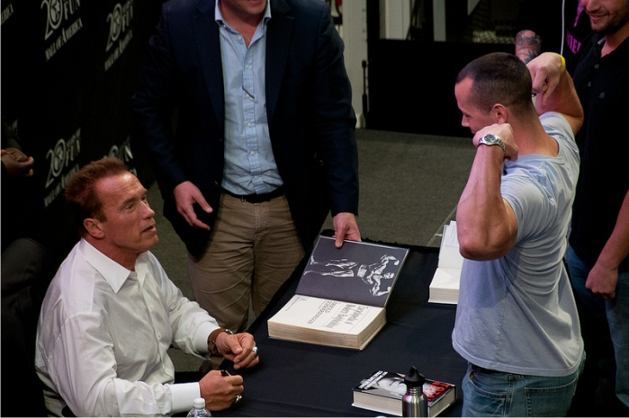 Arnold Schwarzenegger. Foto: Brian Lalor (CC)