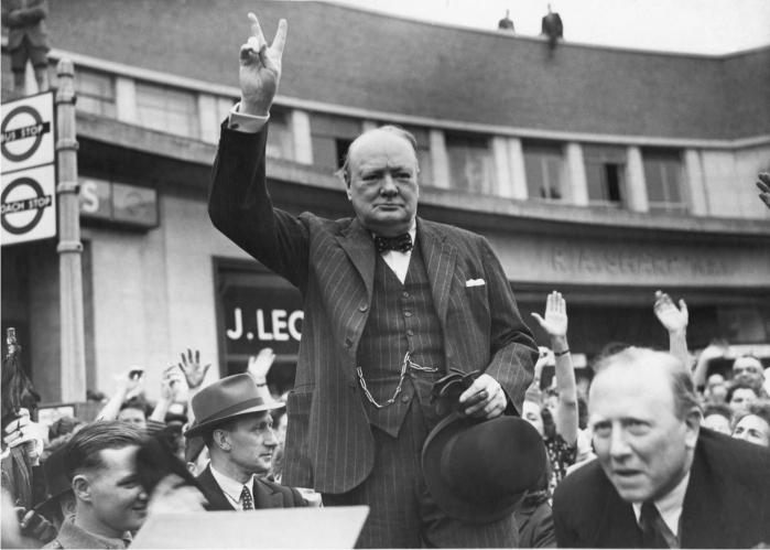 Winston Churchill. Foto: Corbis.