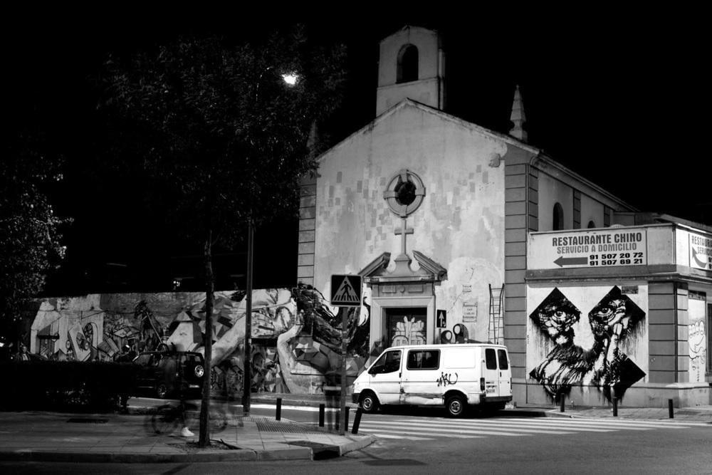 Parroquia de San Carlos Borromeo, Vallecas en 2010. Fotografía: Sr. X (CC)