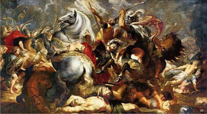 Muerte de Publio Decio Mus, por Rubens. (DP)