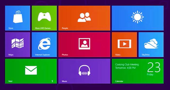 Pasatiempos: ¿qué es esto? Posibles opciones: a) Un test de percepción para chimpancés, b) un estampado del blusón de Alberto Chicote, c) Windows Metro, la interfaz de usuario para Windows 8.
