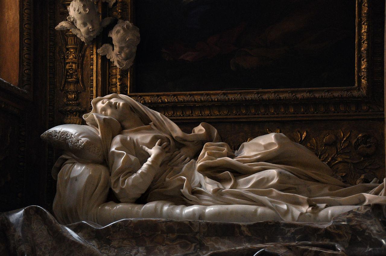 Éxtasis de la beata Ludovica, Bernini