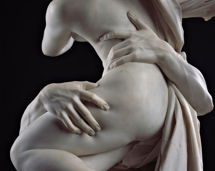 Imagen: El rapto de Proserpina, de Bernini