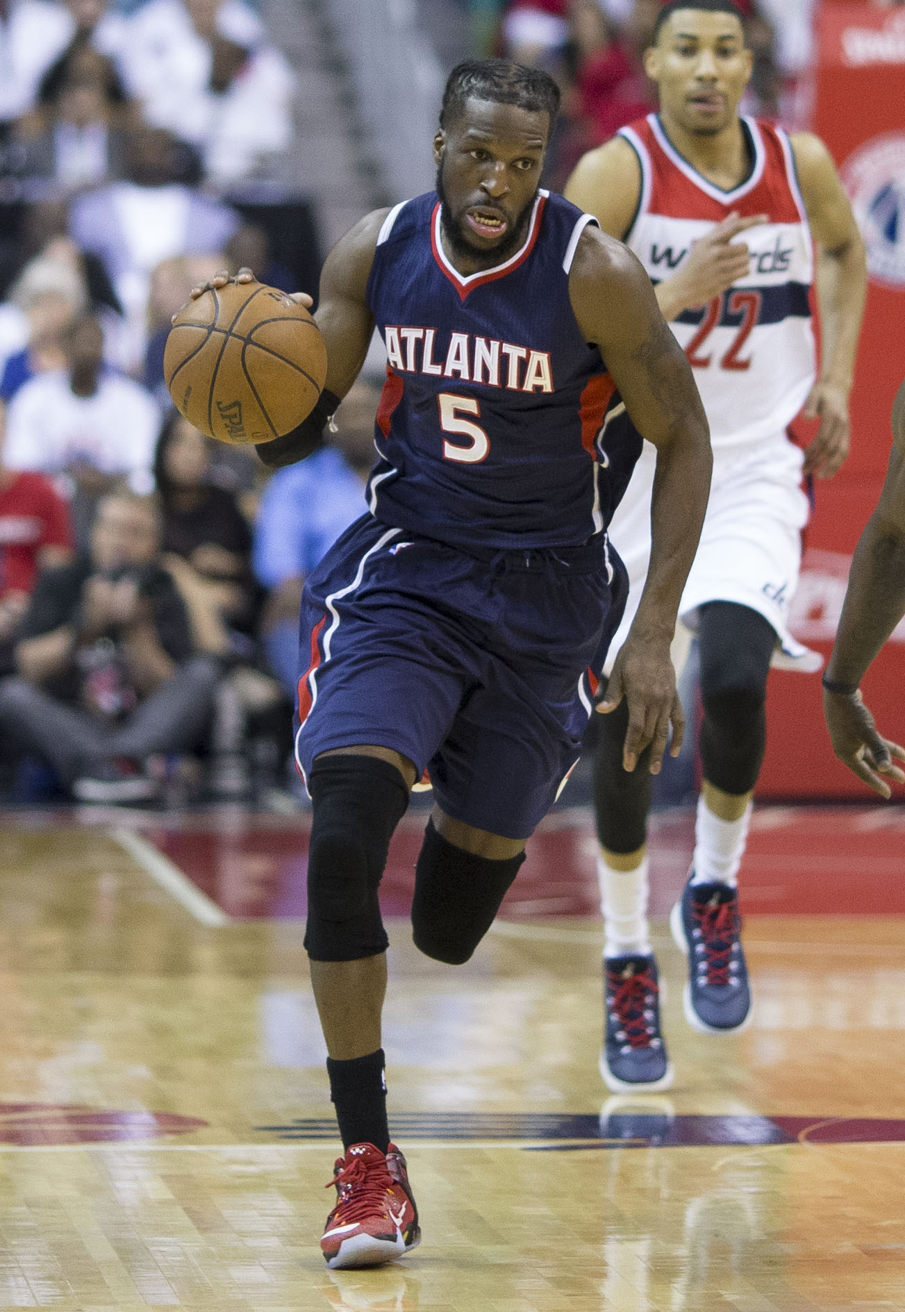 Hawks at Wizards 5/9/15