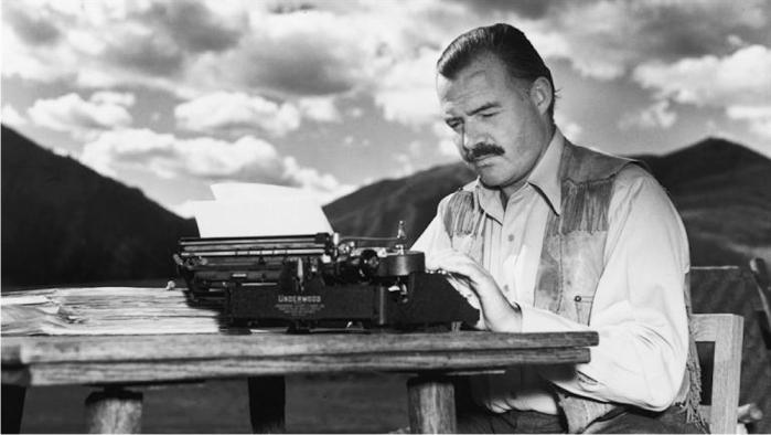 Ernest Hemingway. Foto: Wikicommons (DP)