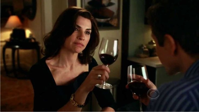 Escena de The good wife. Imagen: CBS.