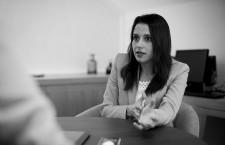 Inés Arrimadas: «Ya se verá en las urnas. Lo mismo nos tienen que apoyar PP o PSOE a nosotros»