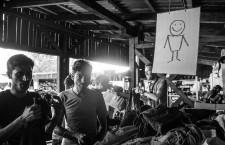 Refugiados en el corredor balcánico: «Mientras el rico habla, el pobre comparte»