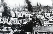 Barcelona durante la Semana Trágica (1909). Fotografía: DP