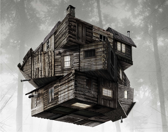 The cabin in the woods. Imagen: Lionsgate.