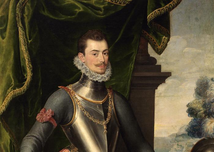 Don Juan de Austria en un retrato atribuido a Juan Pantoja de la Cruz (segunda mitad del siglo XVI)