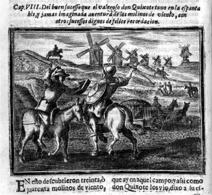 Edición de El Quijote de 1674. Imagen: DP.