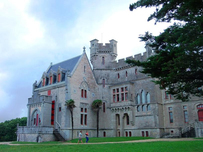 Château d'Abbadia Fotografía: Ander Izagirre