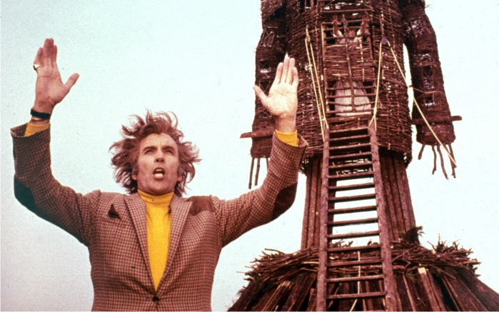 Escena de The wicker man. Imagen: British Lion Film Corporation.