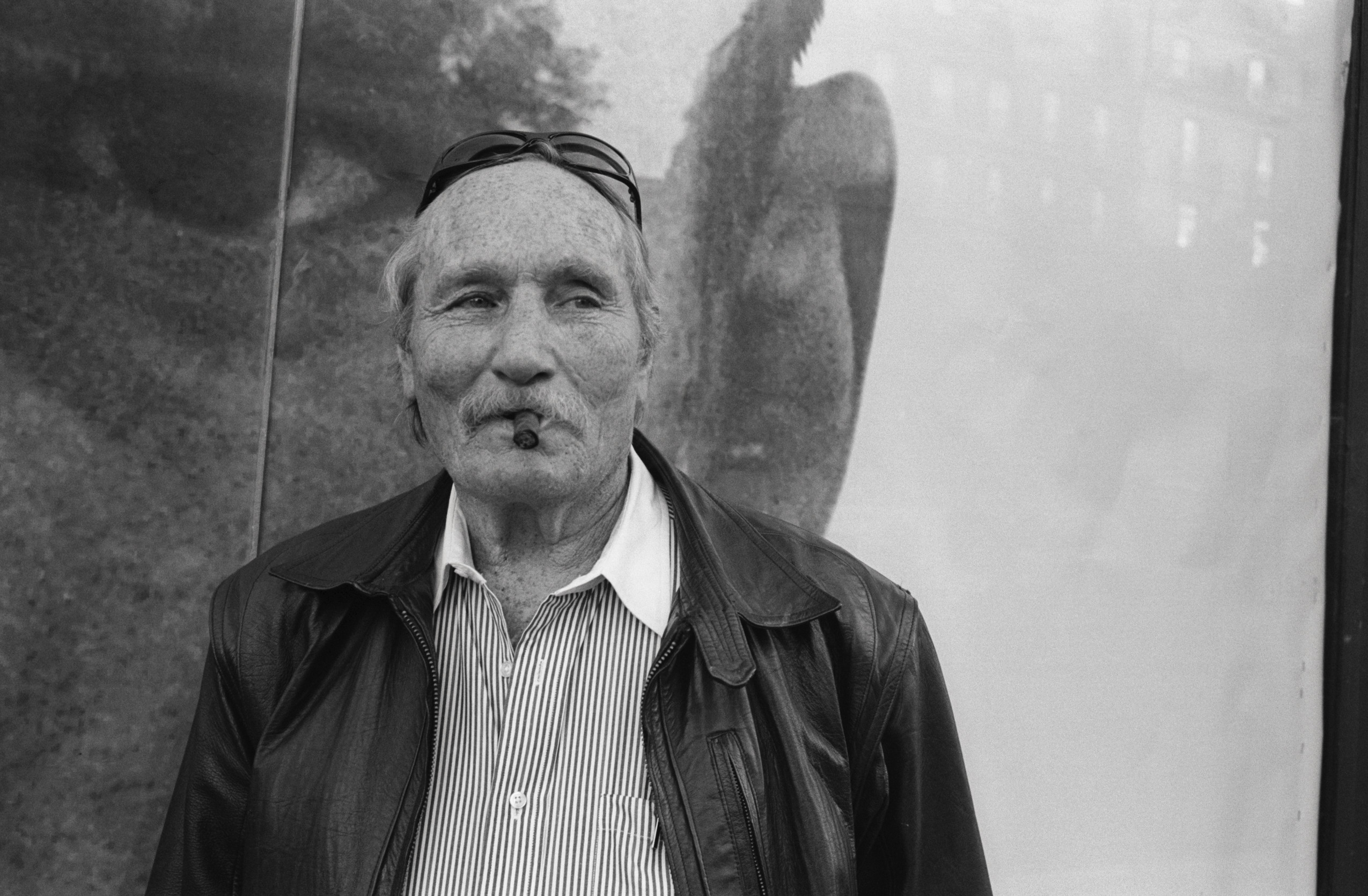 07 Oct 1997 --- Edward Bunker spent over twenty-five years in and out of U.S. penal institutions. He later turned to writing screenplays and novels and acting. --- Image by © Sophie Bassouls/Sygma/Corbis